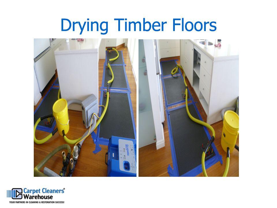 Drying Timber Floors