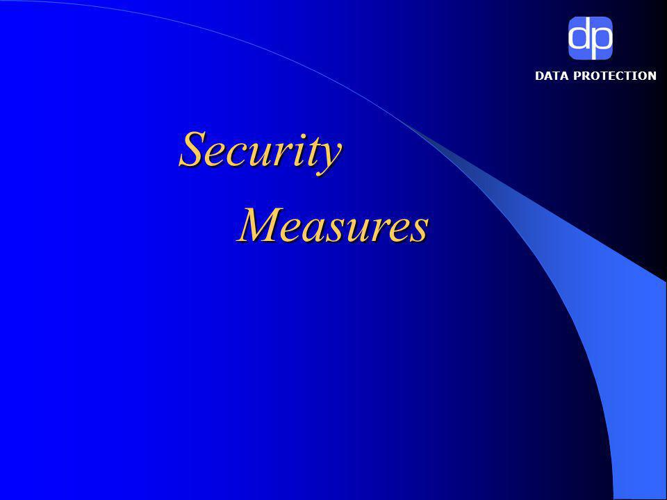 DATA PROTECTION Security Measures
