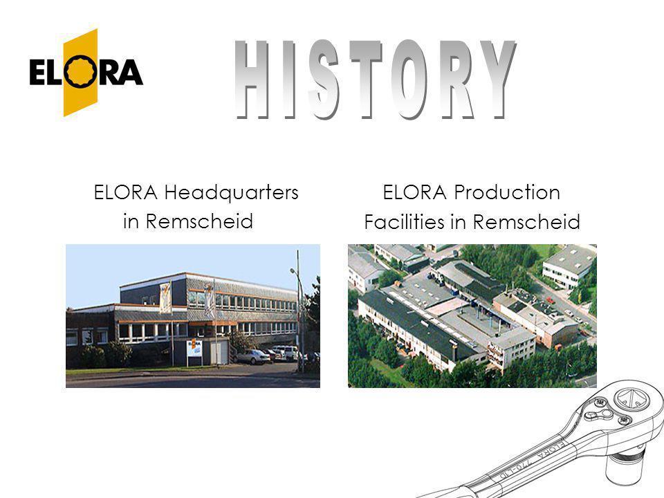 ELORA Headquarters in Remscheid ELORA Production Facilities in Remscheid