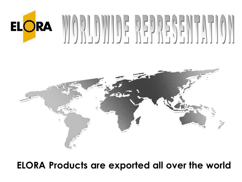 ELORA Products are exported all over the world
