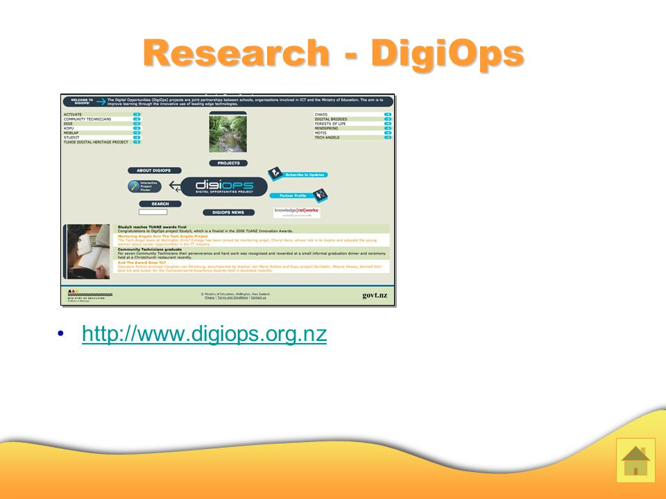 Research - DigiOps http://www.digiops.org.nz