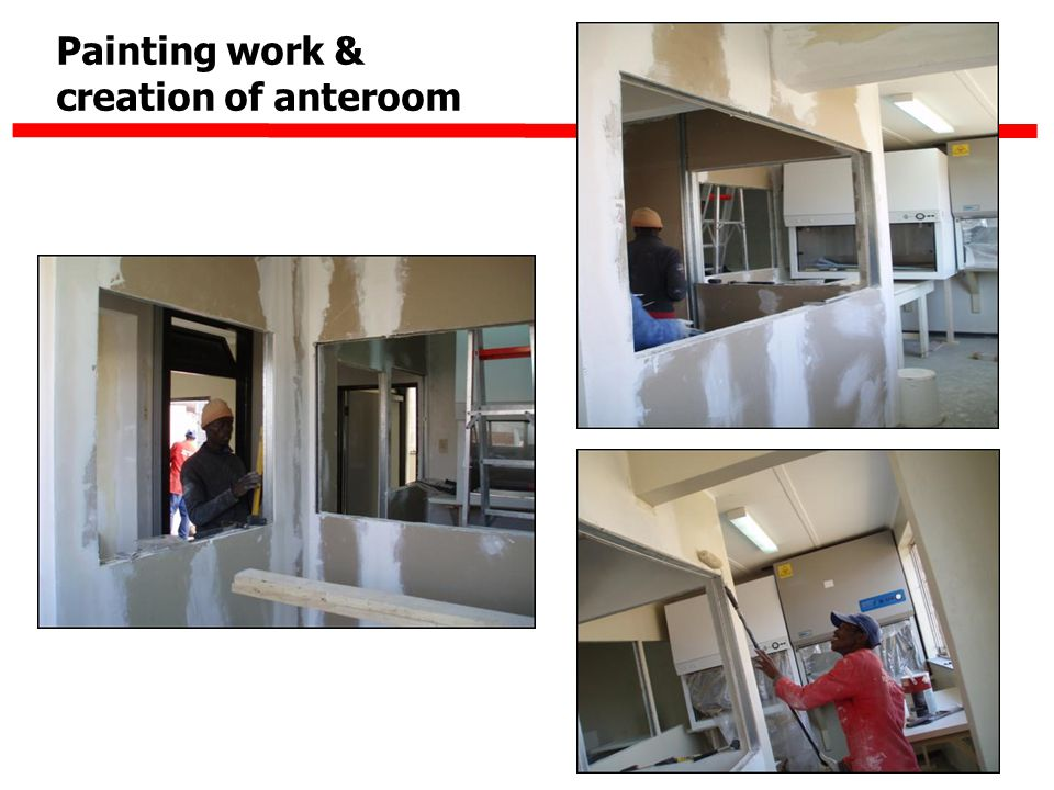 Painting work & creation of anteroom