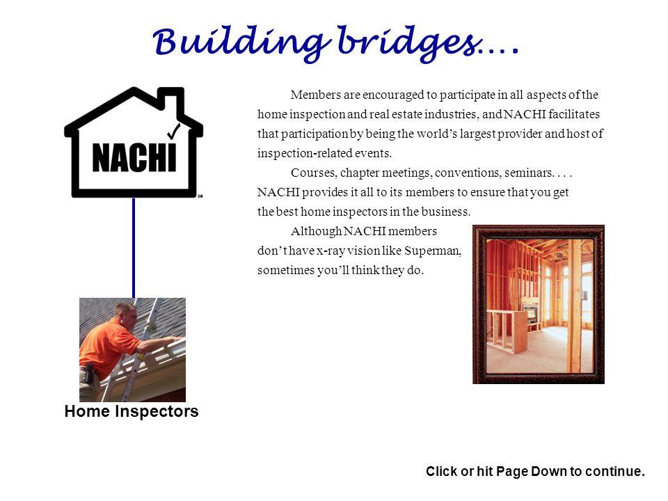 Building bridges….