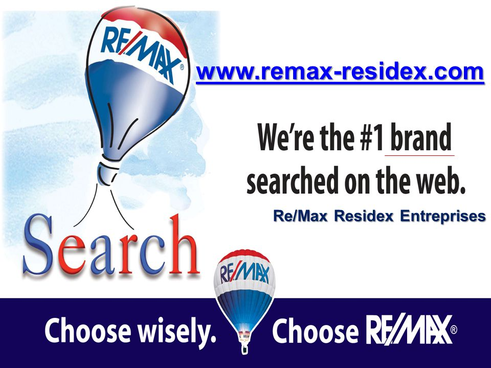 Re/Max Residex Entreprises www.remax-residex.com