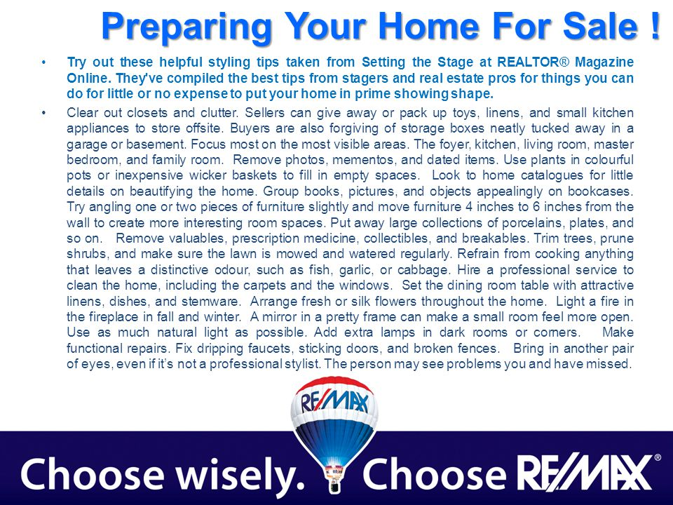Try out these helpful styling tips taken from Setting the Stage at REALTOR® Magazine Online.