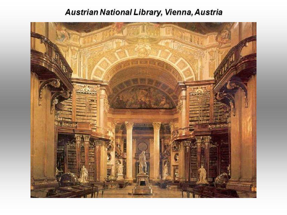 Kremsmuenster Abbey Library, Kremsmu ̈ nster, Upper Austria.