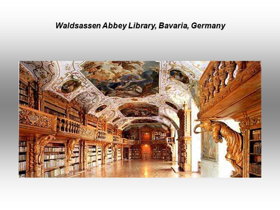 August Herzog Library, Wolfenbüttel, Germany Germany