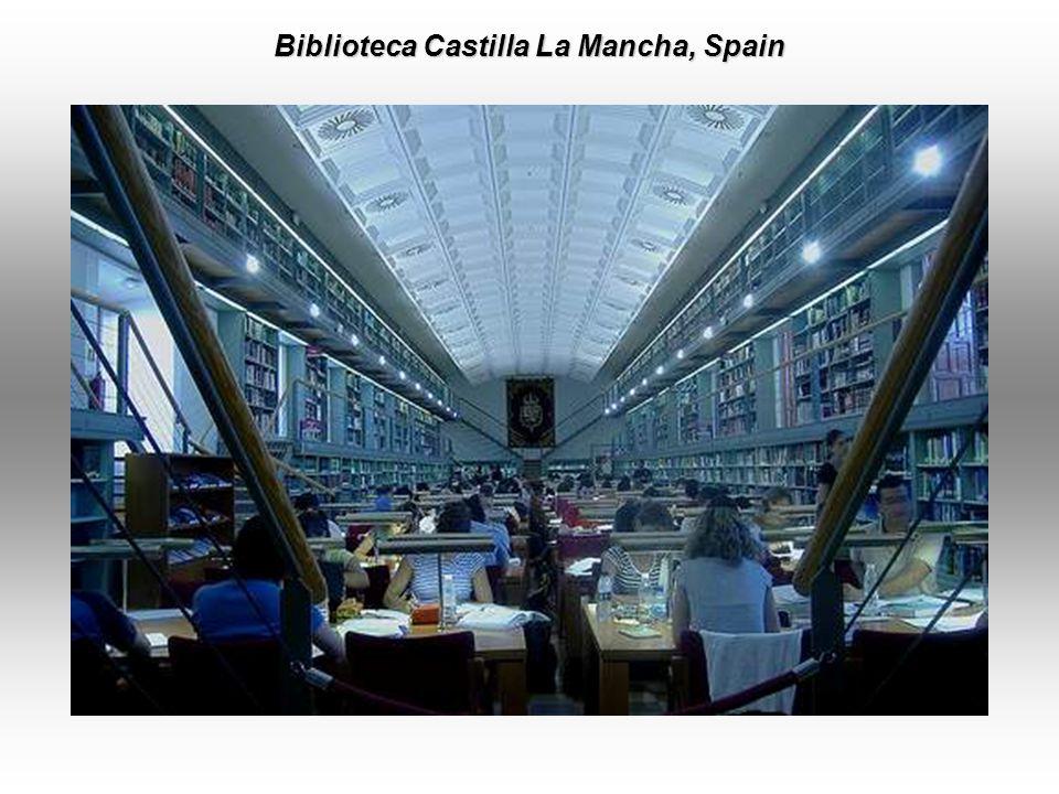 Salamanca Library, Salamanca, Spain