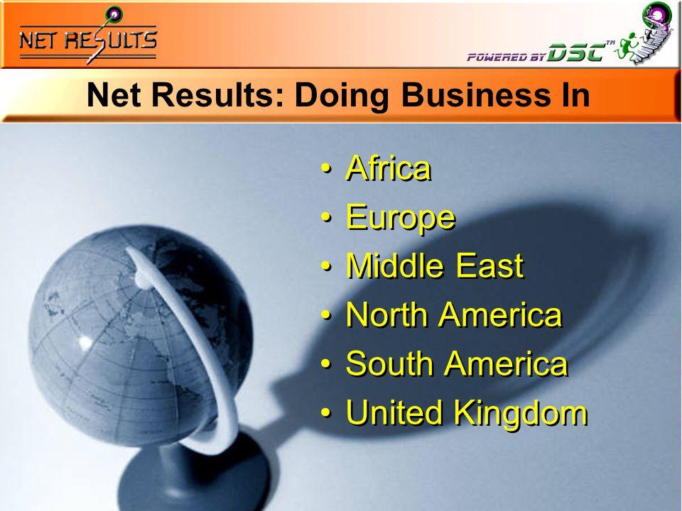 © 2001 Net Results Inc.