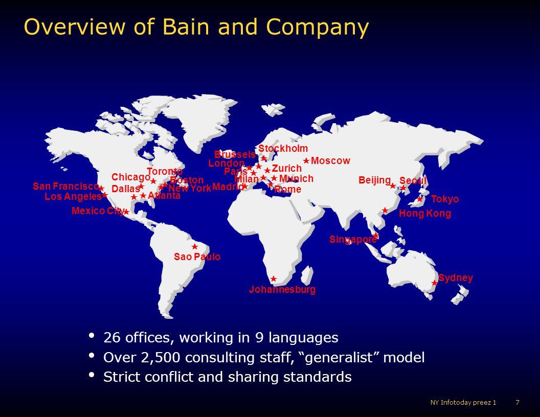 18 NY Infotoday preez 1 Bain Virtual University