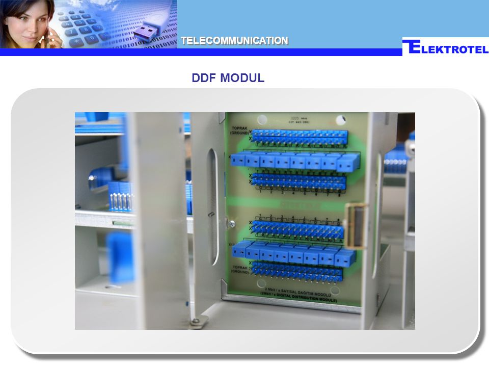 TELECOMMUNICATION DDF MODUL