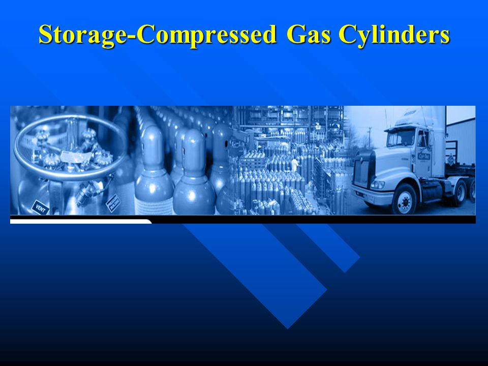 Storage-Compressed Gas Cylinders
