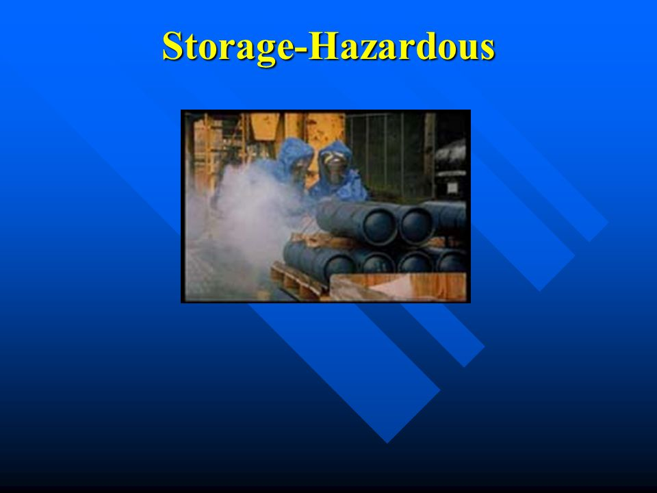 Storage-Hazardous