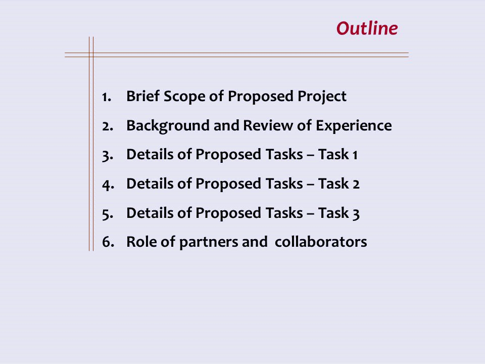 Brief Scope of Project Three Major Tasks: 1.Data fusion of simultaneous data collected from airborne and ground sensors for infrastructure monitoring 2.Use of remotely collected data for developing better models for network planning and emergency operations 3.Develop tools and enhance enabling technologies for airborne data collection.
