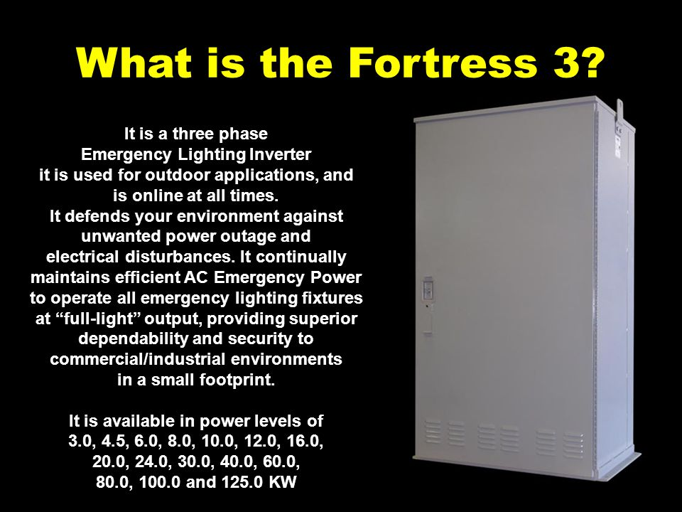 What makes the Fortress 3 different.DSPM Watchdog software always on guard.