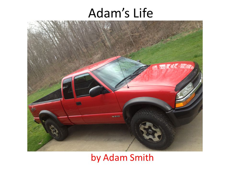 Adams Life by Adam Smith