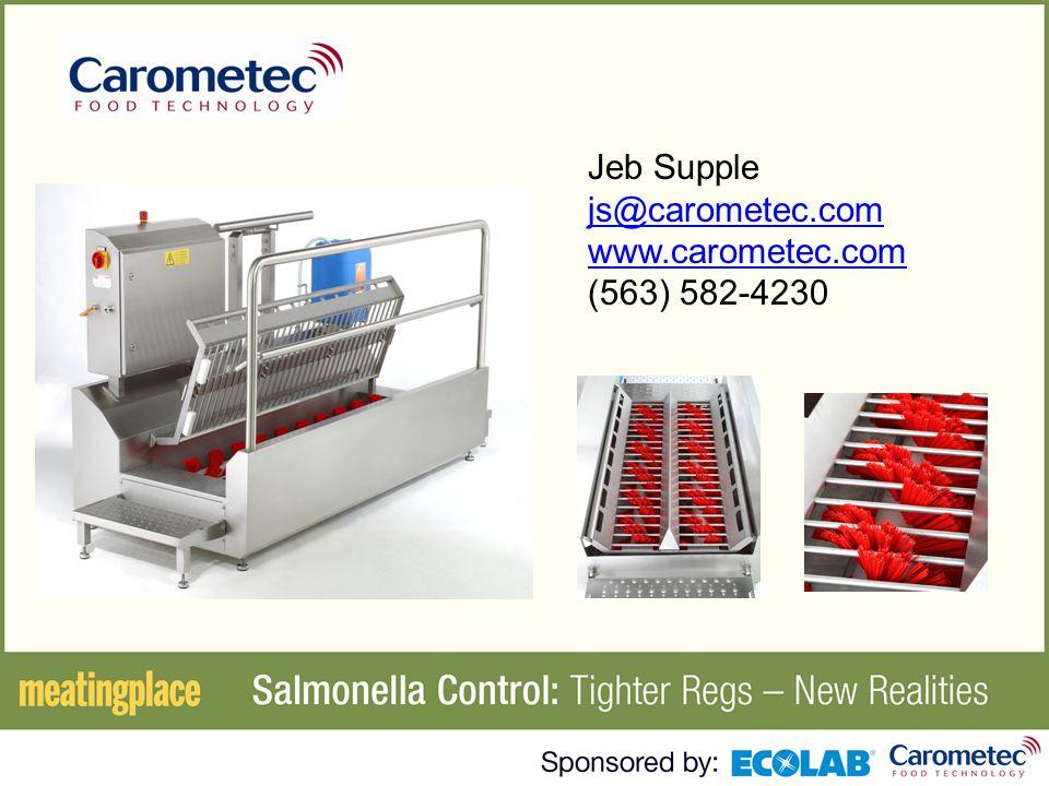 Jeb Supple js@carometec.com www.carometec.com (563) 582-4230