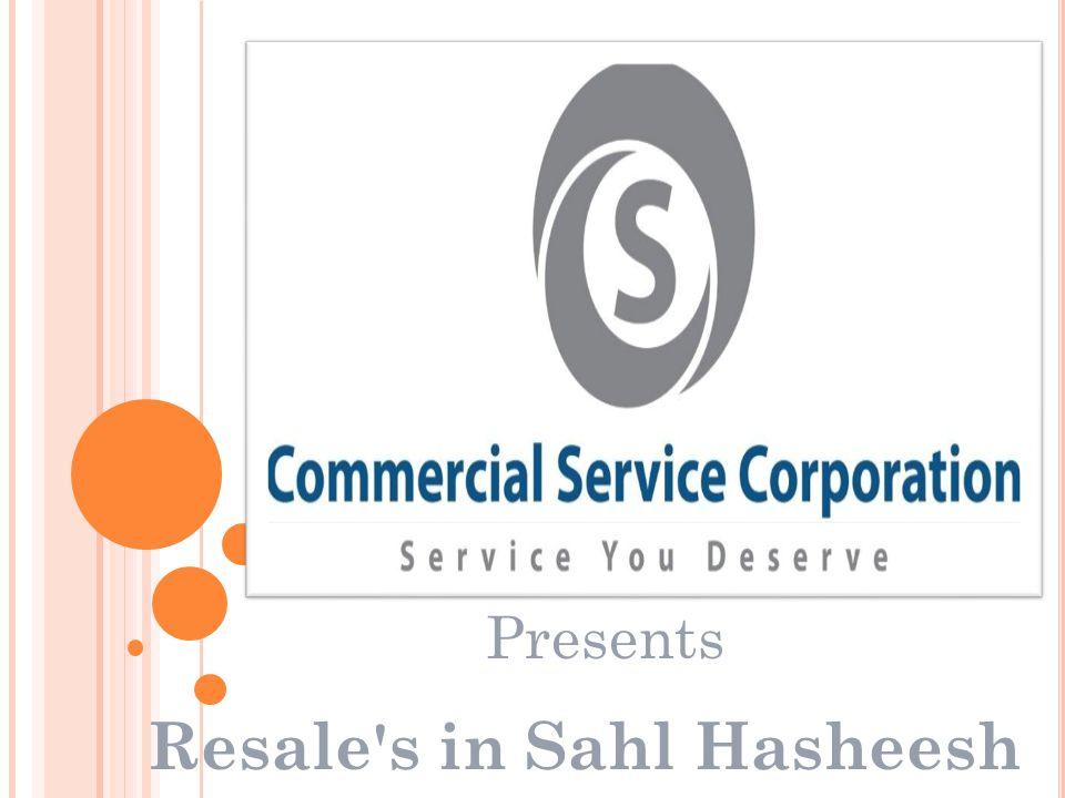 Resale s in Sahl Hasheesh Presents