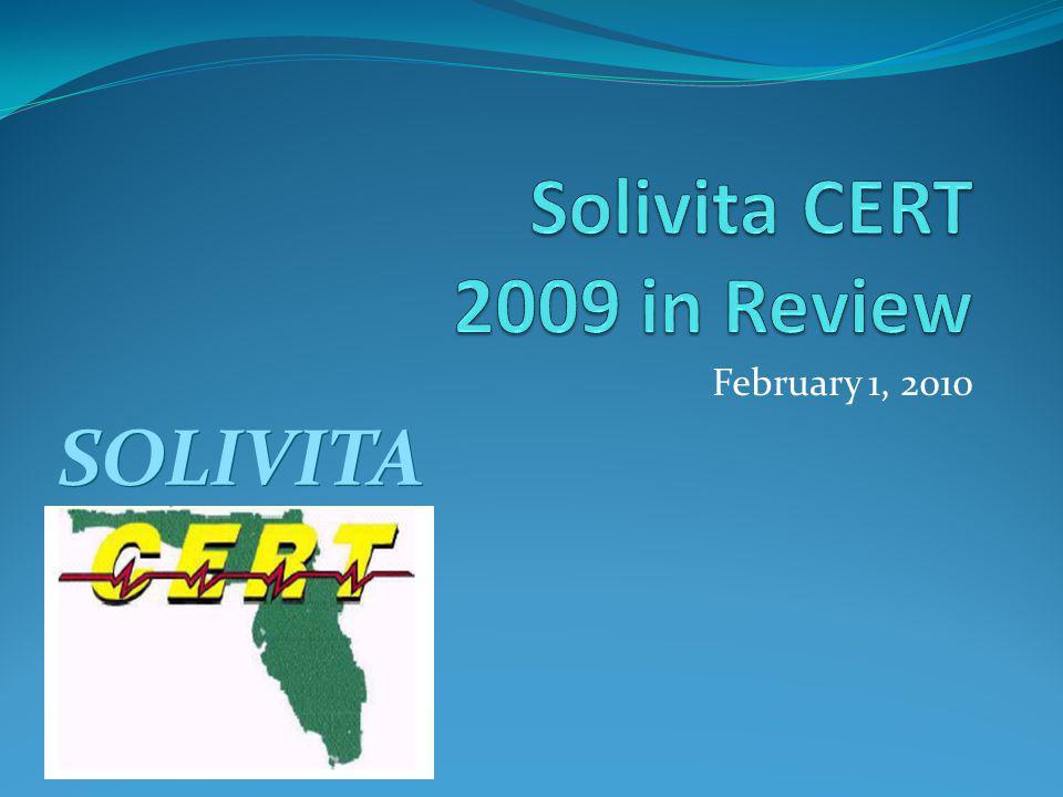 February 1, 2010 SOLIVITA
