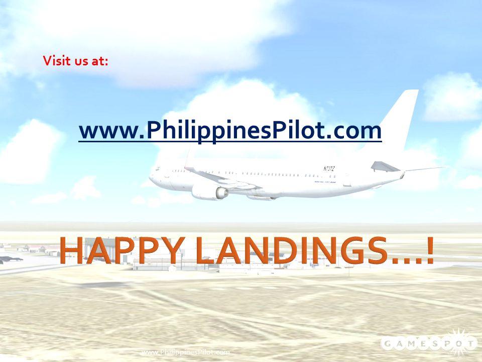 Visit us at: www.PhilippinesPilot.com