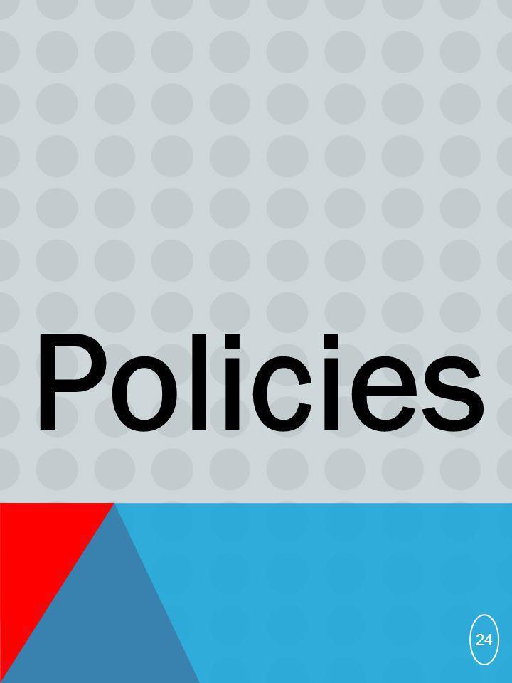 Policies 24