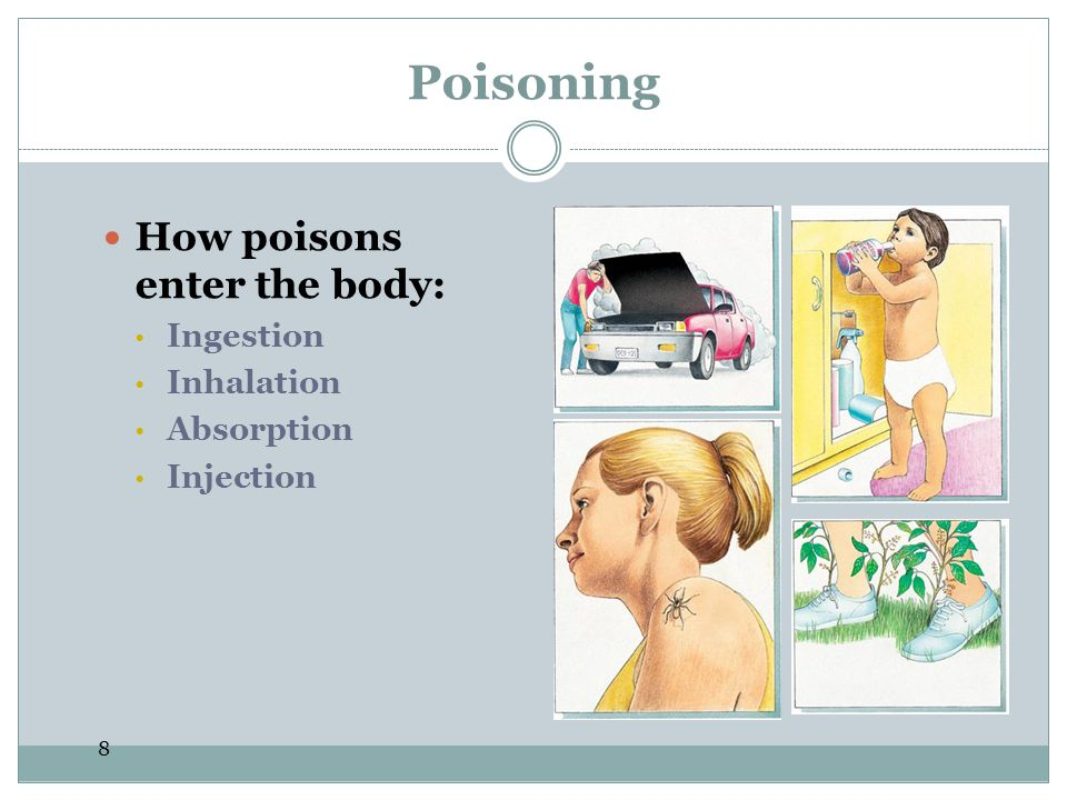 9 Ingested Poisons The U.S.