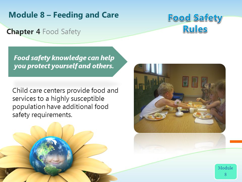 Food safety knowledge can help you protect yourself and others.