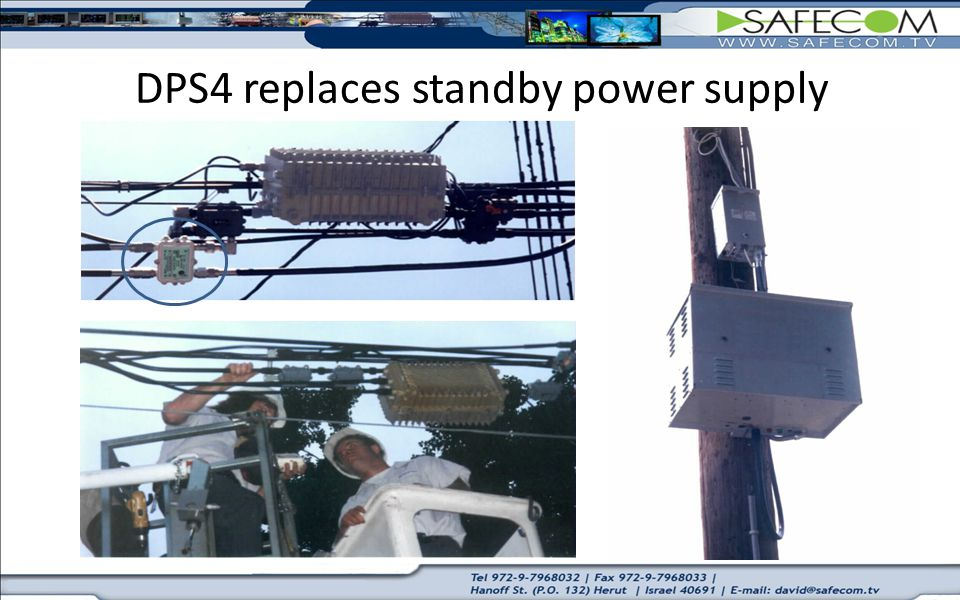 DPS4 replaces standby power supply
