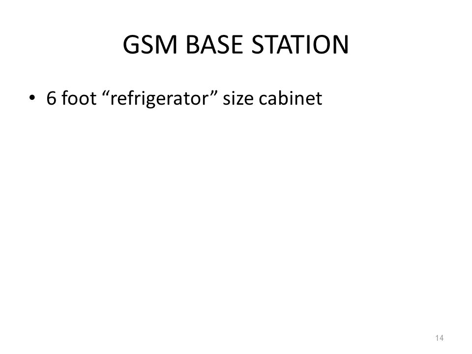 GSM BASE STATION 6 foot refrigerator size cabinet 14