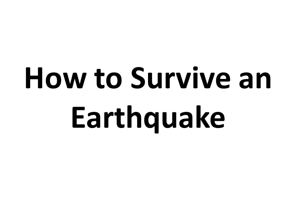 Earthquakes are among the most destructive natural disasters.