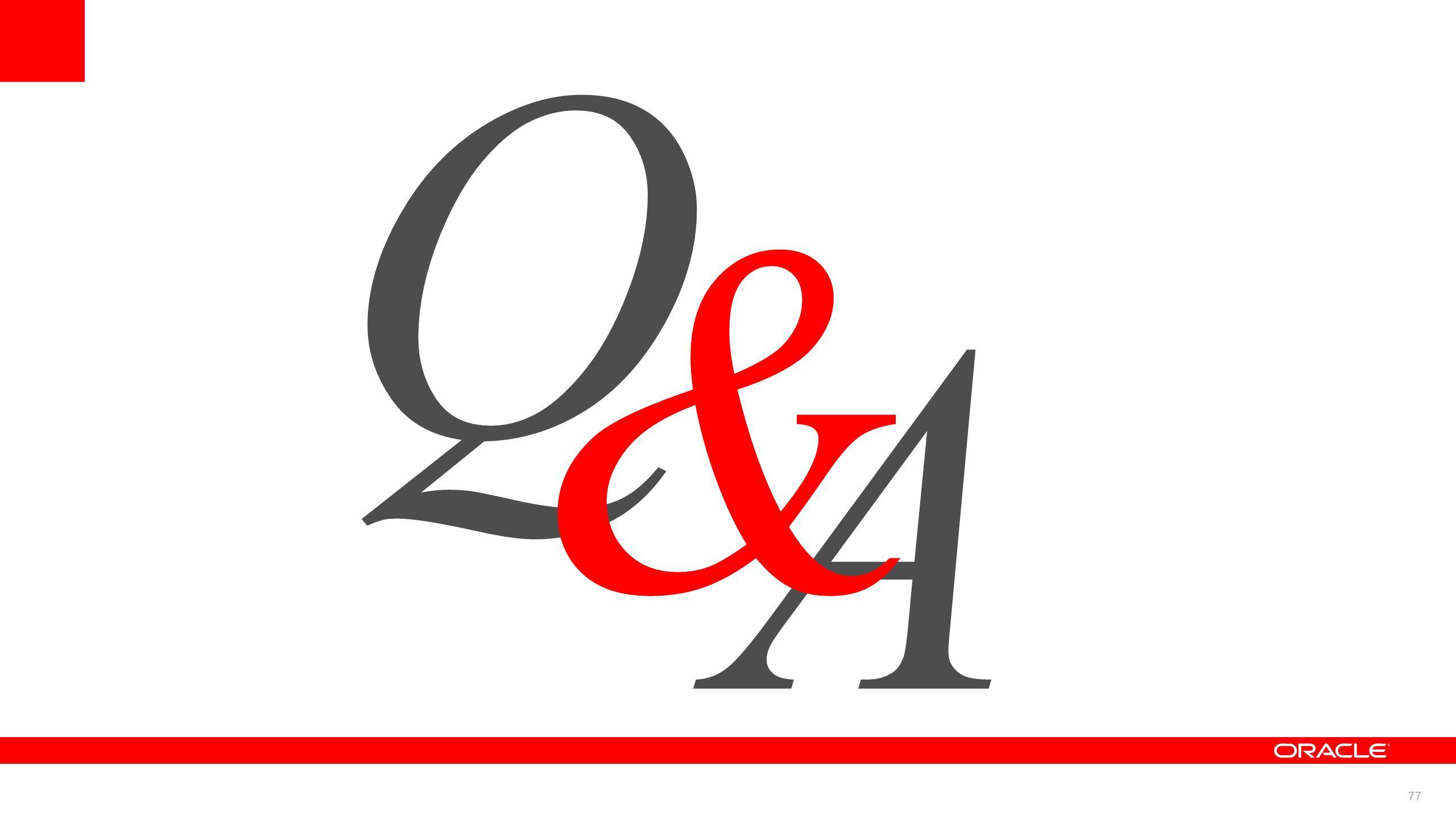 77 A Q &