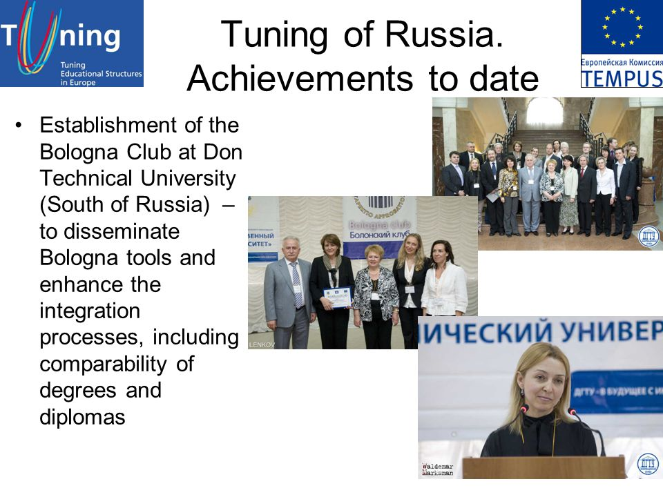 Tuning of Russia.
