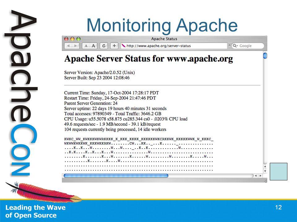 12 Monitoring Apache