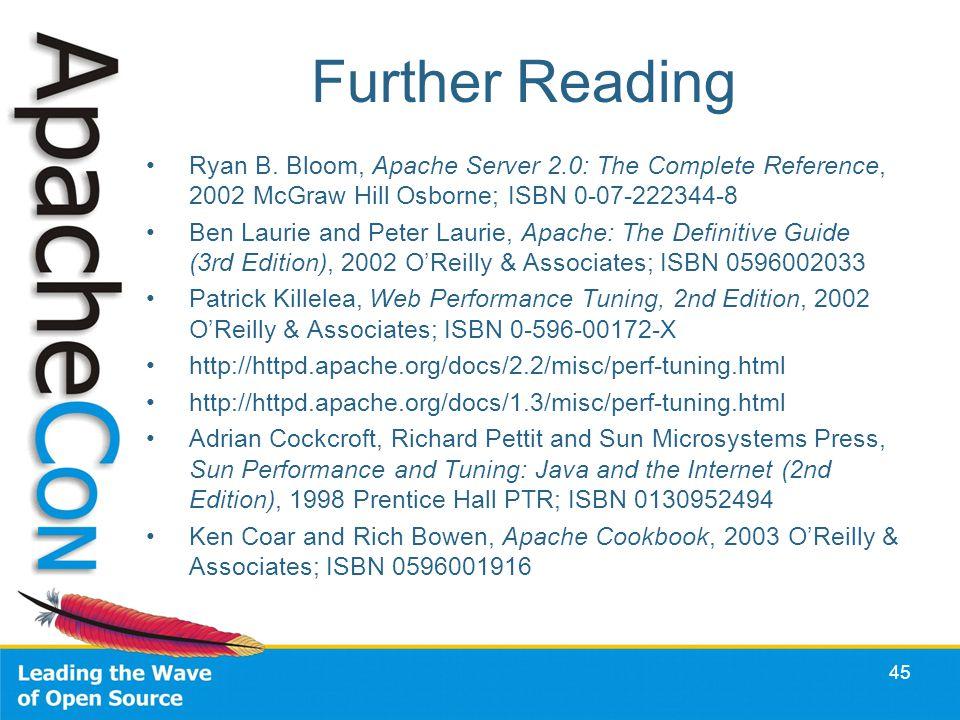 45 Further Reading Ryan B.