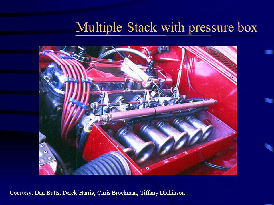 Multiple Stack with pressure box Courtesy: Dan Butts, Derek Harris, Chris Brockman, Tiffany Dickinson