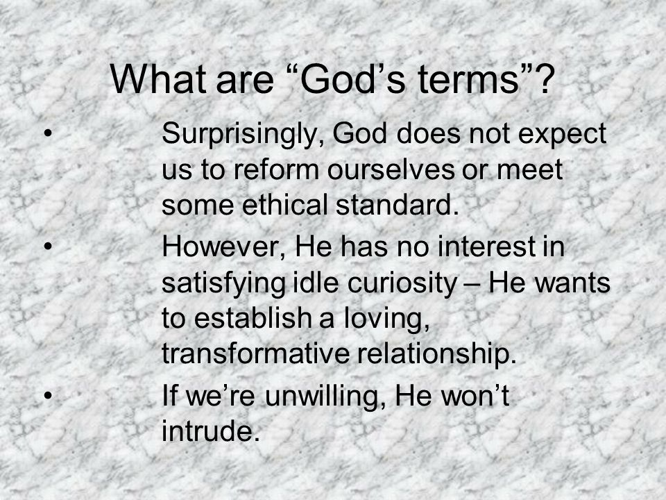 We cant evaluate the likelihood of Gods preferring life, knowledge...before we can detect God s purpose, we must first know his intentions.