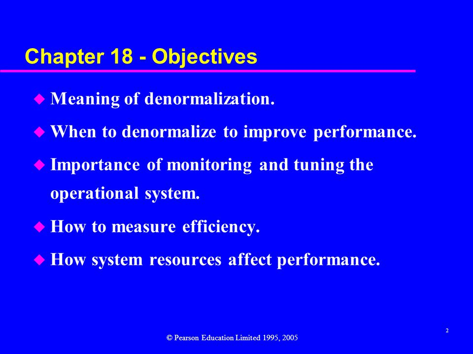 3 Step 7 Consider the Introduction of Controlled Redundancy To determine whether introducing redundancy in a controlled manner by relaxing normalization rules will improve the performance of the system.