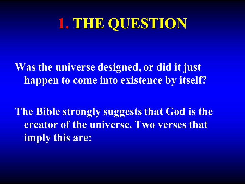 7. CONCLUSIONS FOR THE FINE-TUNED UNIVERSE
