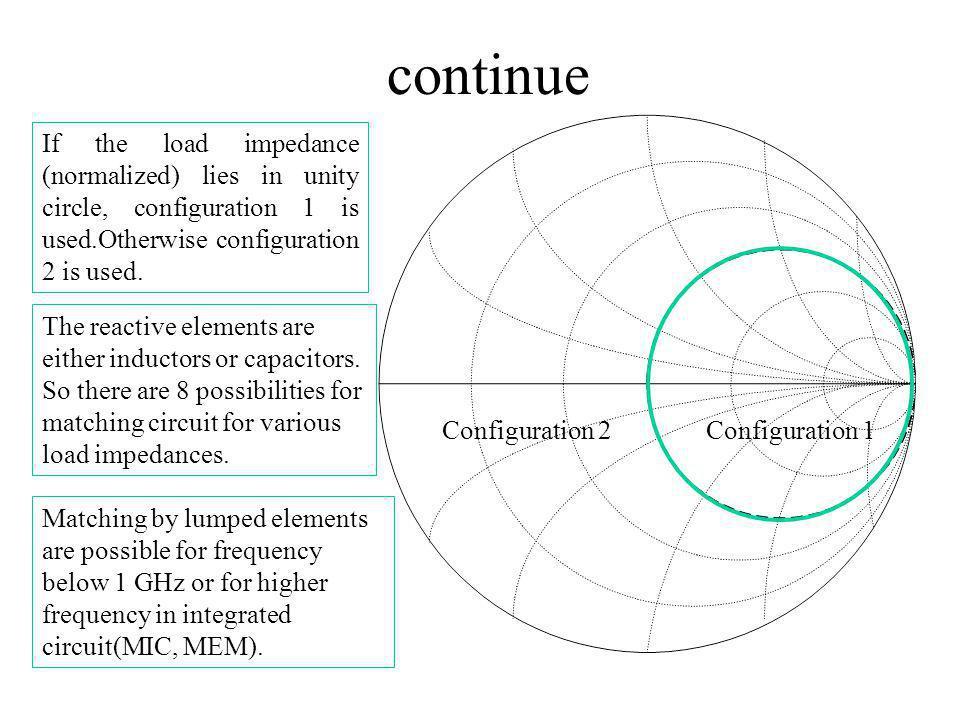 Impedances for serial lumped elements Serial circuit Reactancerelationshipvalues +veX=2 fLL=X/(2 f) -veX=1/(2 fC)C=1/(2 fX)