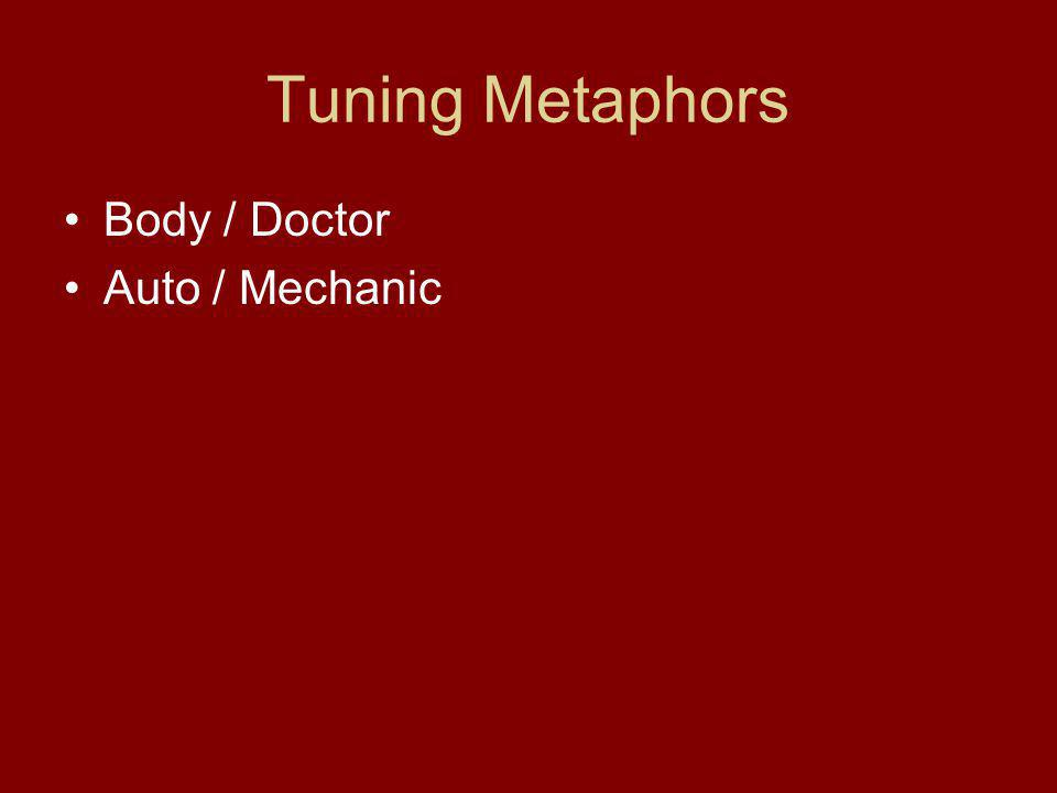 Tuning Metaphors Body / Doctor Auto / Mechanic