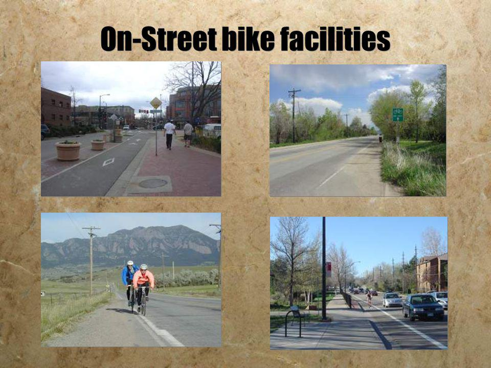 On-Street bike facilities