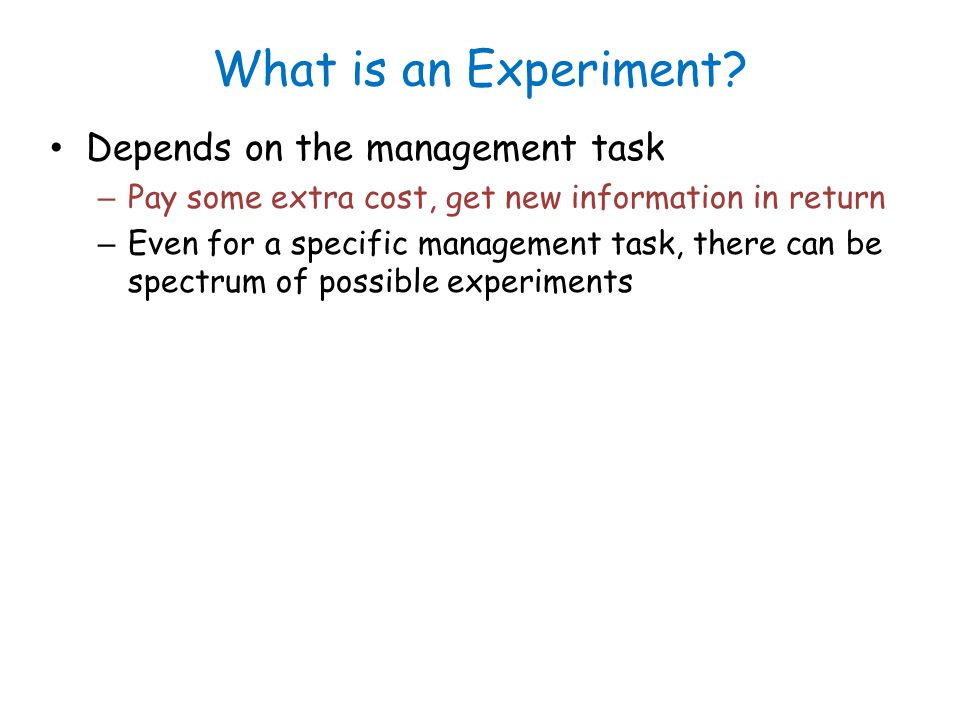 Uses of Experiment-driven Mgmt. DB conf parameter tuning