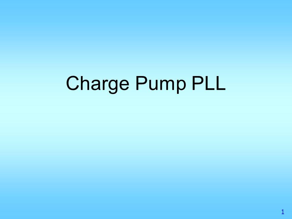 1 Charge Pump PLL