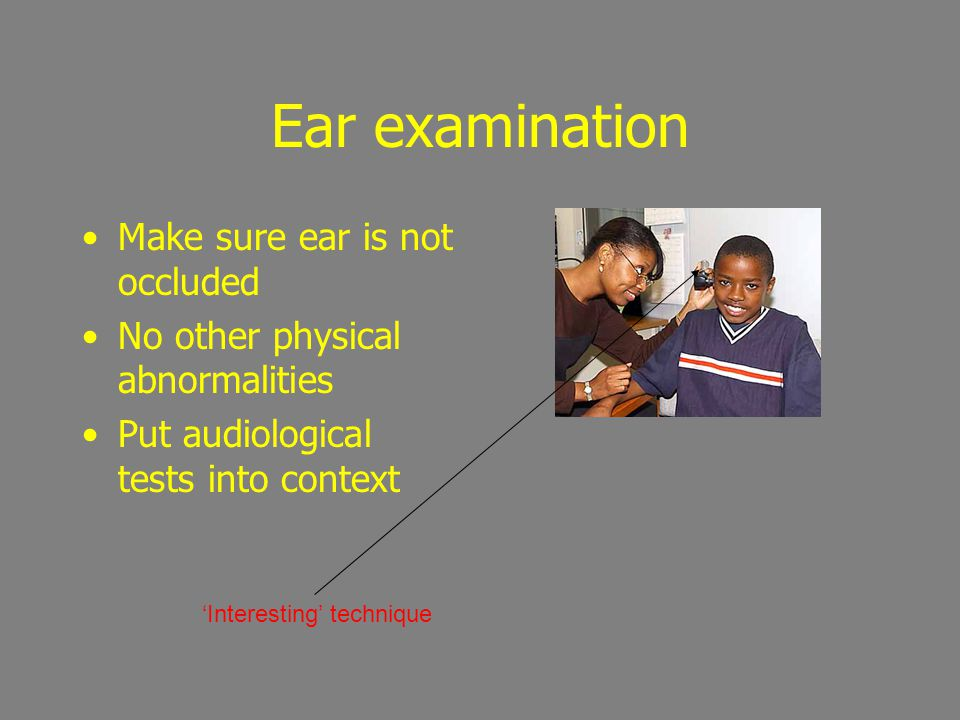 PTA limitations PTA in NOT always a Gold Standard and infallible Limited by : patient, audiologist and equipment Beware on NOHL Try to supplement other simple tests
