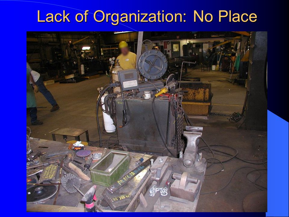 Lack of Organization: No Place