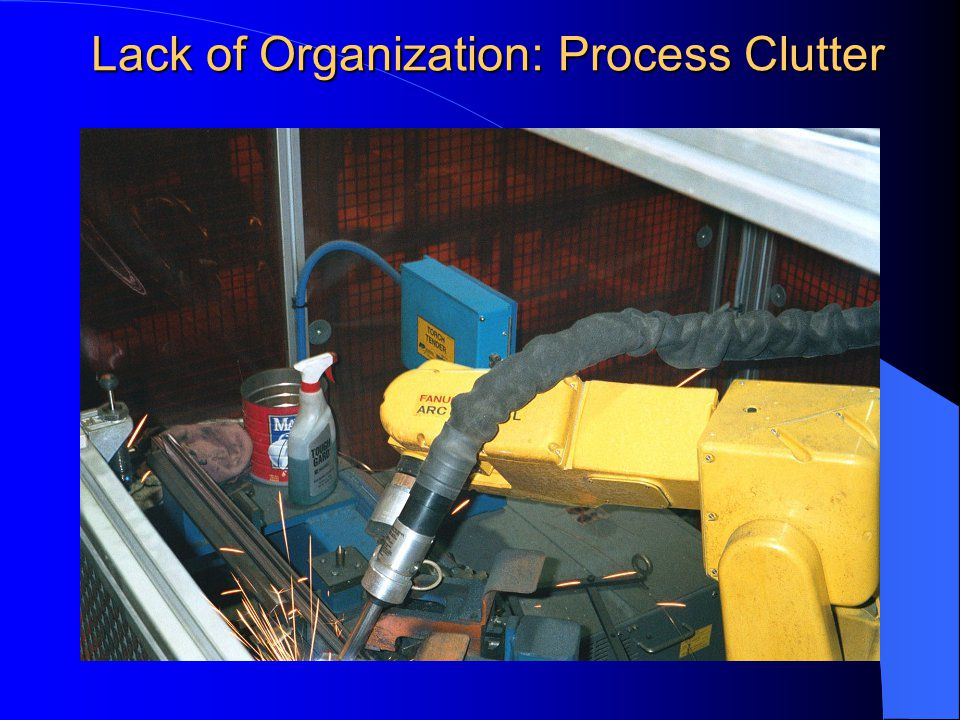 Lack of Organization: Process Clutter