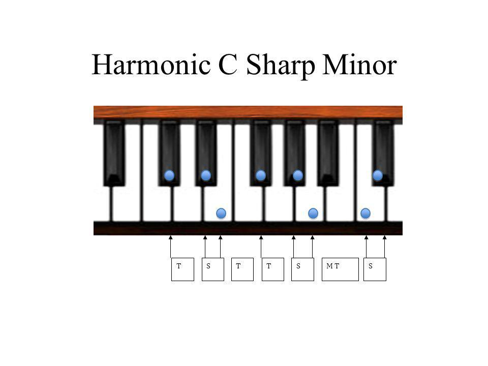 Harmonic C Sharp Minor TTSTSM TS