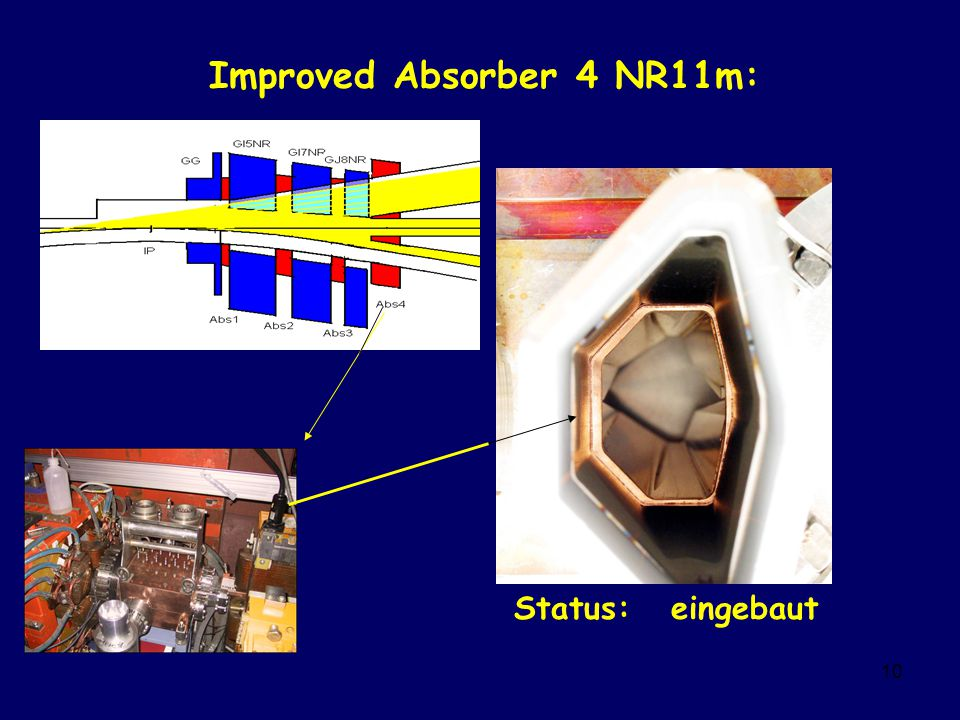 10 Improved Absorber 4 NR11m: Status: eingebaut