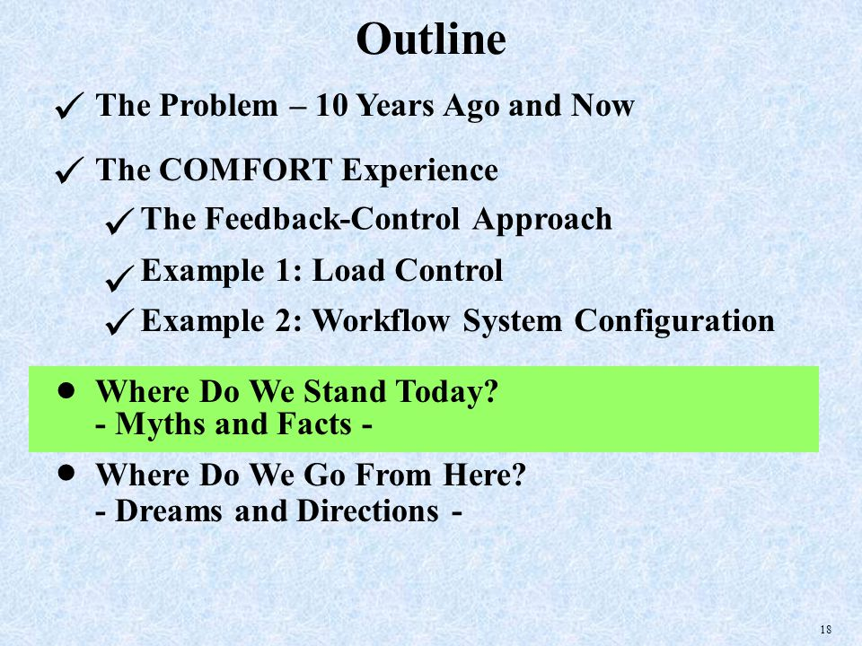 18 Outline The Problem – 10 Years Ago and Now Where Do We Go From Here.