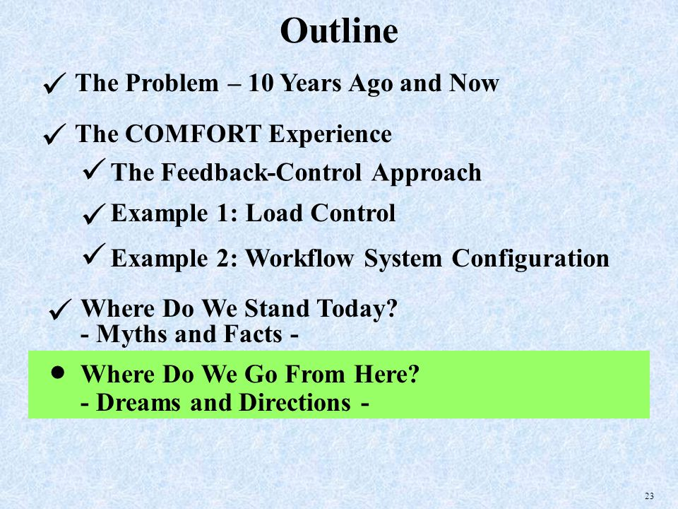 23 Outline The Problem – 10 Years Ago and Now Where Do We Go From Here.
